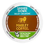 bob marley coffee k cups - Marley Coffee Simmer Down, Organic Decaffeinated, Single Serve, 24 Count