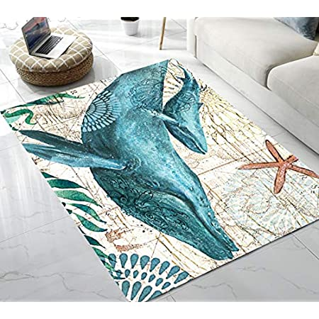 51peow896sL._SS450_ Whale Rugs and Whale Area Rugs
