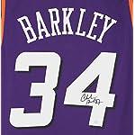 25d7ced9ca3 Charles Barkley Phoenix Suns Signed Autographed Purple  34 Custom Jersey  PAAS.