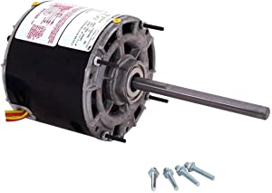 AO Smith 391 Blower Motor with 5.0-Inch Frame Diameter, 1/4-HP, 1050-RPM, 208-230-Volt, 1.5-Amp and Sleeve Bearing