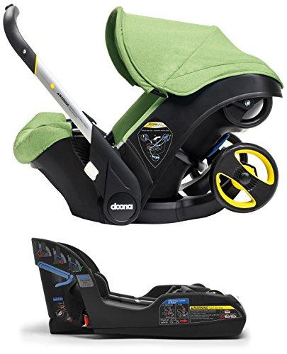Doona Infant Car Seat & Latch Base – Fresh (Green) – US Version