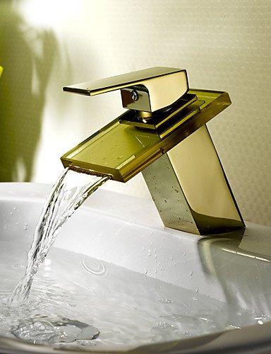 WasserfaÖl Waschbecken Wasserhahn (ti-PVD-Finish)