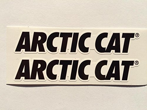 2 Arctic Cat Name Die Cut ()