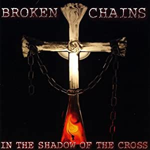 Broken chains cross
