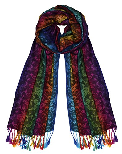 Peach Couture Tropical Colorful Pashmina product image