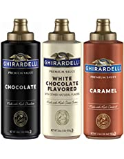 Ghirardelli Squeeze Bottles - Set of 3