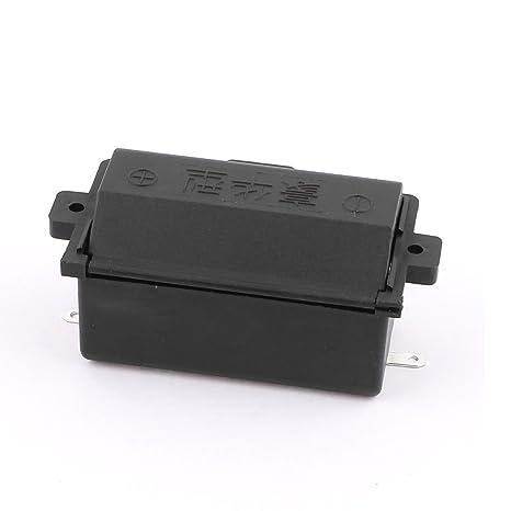Cocina Estufa muelle de carga 1x1.5V D Holder Tamaño de la batería de almacenamiento