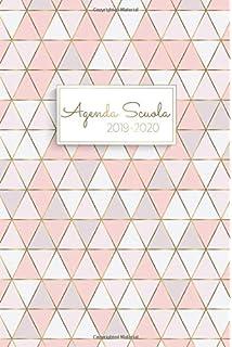 Agosto 2020 Calendario.Amazon It Agenda Scuola 2019 2020 Calendario Agosto 2019