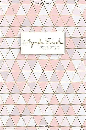 Calendario Agosto 2020.Amazon It Agenda Scuola 2019 2020 Agenda Settimanale