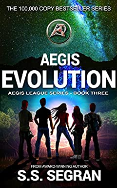 AEGIS EVOLUTION: Action Adventure Mystery Thriller (Aegis League Series Book 3)