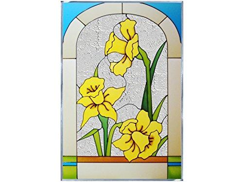 Daffodil, V-507 Art Glass