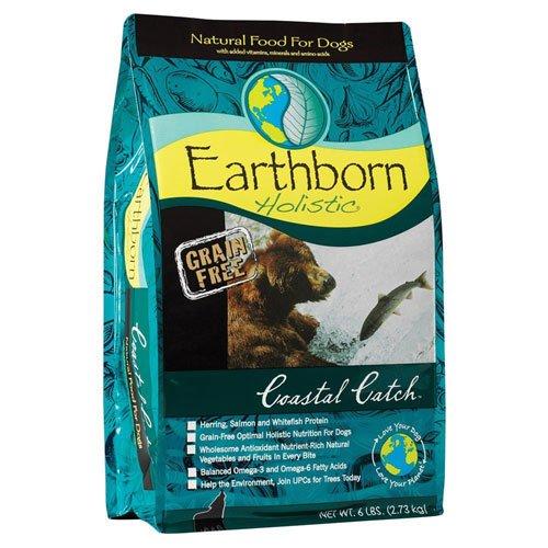Cheap Earthborn Holistic Coastal Catch Natural Dry Dog Food Grain Free — 14 lbs