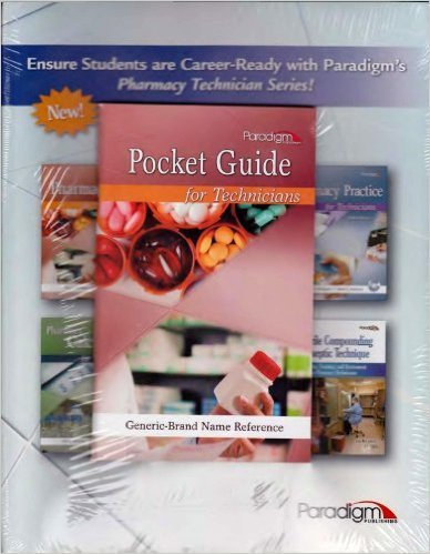 PHARMACOLOGY FOR TECHNICIANS-W
