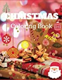 Christmas coloring book for kids: (Jumbo coloring book) (Volume 1)
