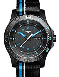 traser swiss H3 watches 105545 Blue Infinity NATO strap by traser swiss H3 watches
