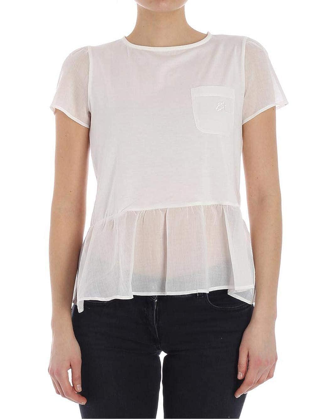 Emporio Armani T-Shirt Donna Bianca 3Z2M64 2J02Z