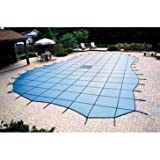 Blue Wave Arctic Armor In-Ground Ultra Light Solid Safety Cover - 20 Year Warranty Blue 16ft x 32ft
