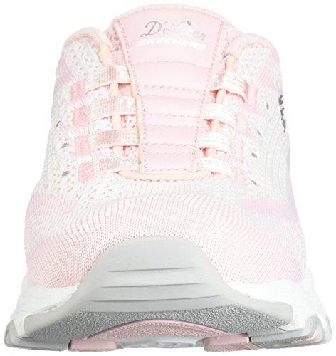 Rosa Muldyr Lys Resbalã³n D'lites Sneaker Sport on Skechers XYwq0A7xY
