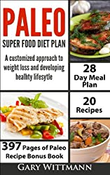 Paleo Diet Super Food Plan, Bonus Book: How to Lose Weight in a Healthy Way that can CHANGE YOU LIFE IN SMALL STEPS. (Paleo Diet Series)