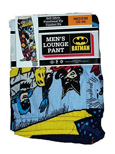 DC Comics Batman Comics Lounge Sleep Pants - Large