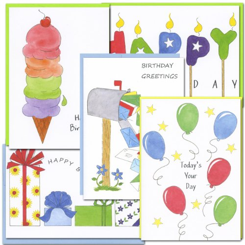 assorted-birthday-cards-color-sketch-ii-2-each-of-5-designs-box-of-10-cards-12-envelopes