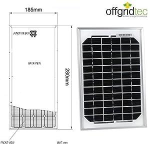 Panneau solaire dappoint 1,5 Watts