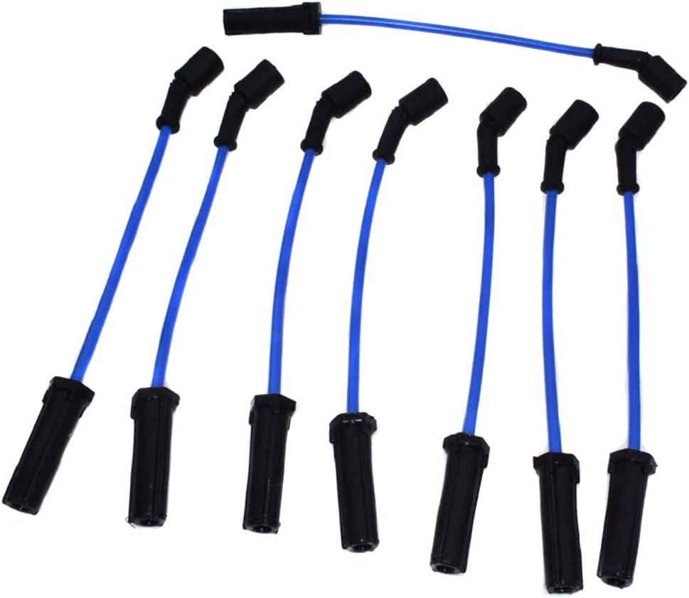 Almencla 8 Pieces Spark Plug Wires Cable Kits For 2010 Chevrolet Camaro 6.2L