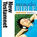 NIV Audio Bible, Pure Voice: New Testament Audiobook by  Zondervan Narrated by George W. Sarris