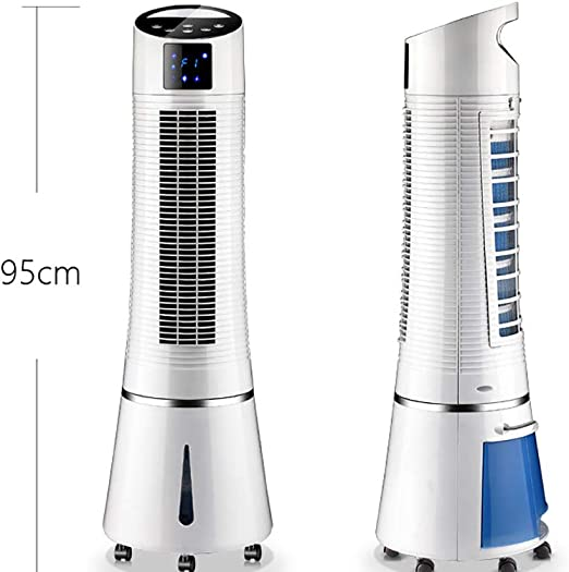 H-O Ventilador de Torre oscilante con Control Remoto: 3 Niveles de ...