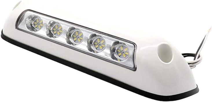 Cara Remolque De Viaje Yate LED 12V Impermeabilice La L/ámpara De Iluminaci/ón Del Porche De La Luz Del P/órtico Para Rv Autocaravana Marino Barcos