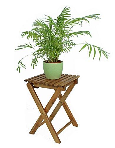 Klapphocker Holz Blumenhocker Hocker Eukalyptusholz