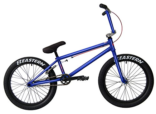 Eastern Bikes Nagas BMX Bicycle, Trans Blue, 20'/One Size