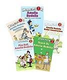 I Can Read Level 2 Books (8) : Amelia Bedelia Goes Camping - Merry Christmas Amelia Bedelia - Teach us Amelia Bedelia - Amelia Bedelia, Rocket Scientist - Amelia Bedelia Bake off - Amelia Bedelia and the Baby (Book Sets for Kids)