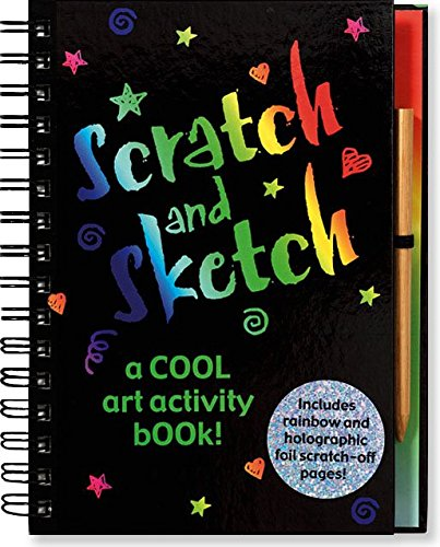 Scratch and Sketch: A Cool Art Activity Book! (Scratch & Sketch)