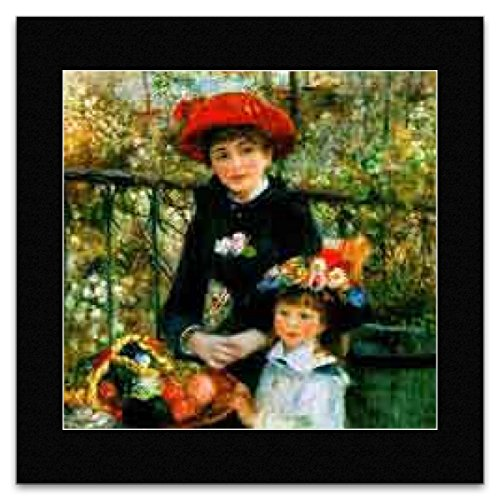 Auguste Renoir - Two Sisters on the Terrace 1881 Mini Poster