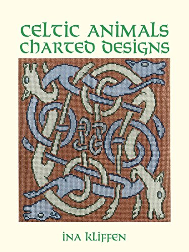 Celtic Animals Charted Designs (Dover Embroidery, Needlepoint) (Embroidery Designs Stuff)
