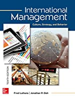 International Management: Culture, Strategy, and Behavior, 10th Edition Front Cover