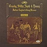 STEPHEN STILLS Autographed Hand SIGNED Crosby, Stills, Nash & Young Album Deja Vu JSA Certified Authentic