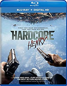 Cover Image for 'Hardcore Henry (Blu-ray + Digital HD) [bluray]'