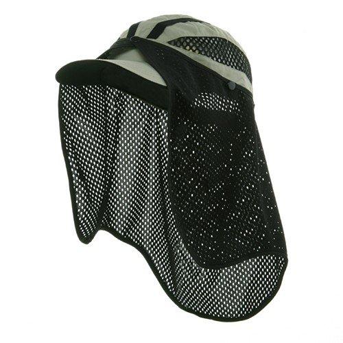 E4hats Mesh Flap Hat - e4Hats.com Talson UV Flap Cap - Khaki