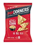 pops corn - POPCORNERS Kettle Corn Popped Corn Snacks, Gluten Free, Non-GMO, Single-Serve 1oz Bags (Pack of 40) - Packaging May Vary