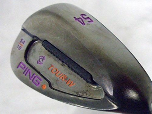 Ping Wedge Tour (Ping Tour-W Sand Wedge 54 10 Blue (CUSTOM BLACK Ni FINISH, PURP/ORG) GW Golf)