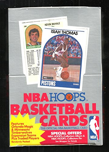 1989-90 HOOPS SERIES 2 BASKETBALL BOX MINT FROM NEW CASE 1ST JORDAN HOOPS - Sealed Factory Case Series 2