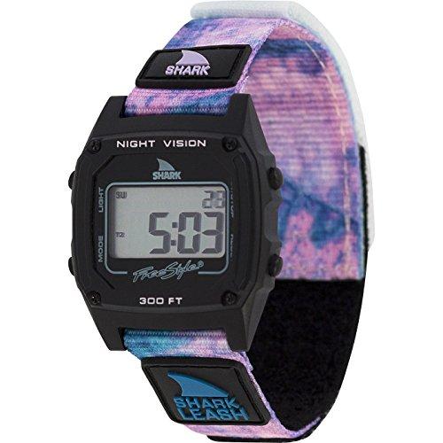 Freestyle Shark Classic Leash Tie-Dye Black Twist Unisex Watch FS101018 ()