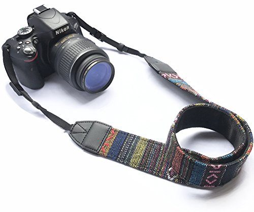 Alled XN01-0941 Camera Neck Shoulder Belt Strap, Vintage