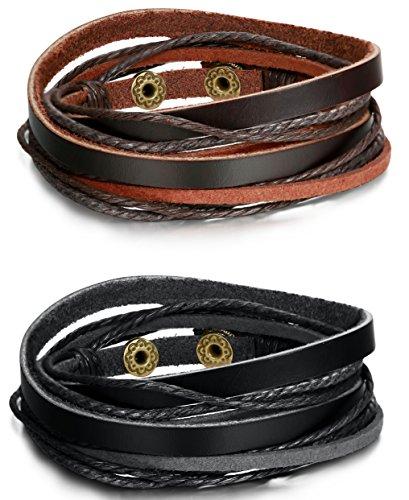 FIBO STEEL Bracelet 7 0 8 0inches Adjustable