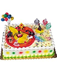 Oasis Supply Circus and Clowns Birthday Cake Decorating Topper Kit, 1 Set