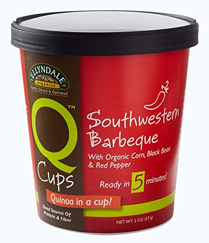 NOW Foods Ellyndale Q Cups Organic Quinoa, Southwestern Barbeque, 2-Ounce (Pack of 12)