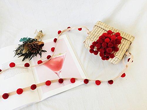 Oblique Holiday Sac Pucao Fête Weave Petit Red De Pendentif Red De GAOQQ Plage Sac Bandoulière Hydrangea 8TdwdEMq