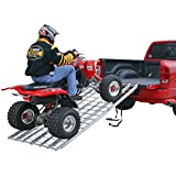 "94"" Strong Aluminum Bi-Fold ATV Loading Ramp"